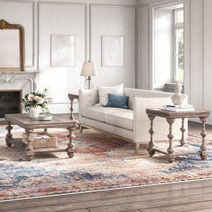 Brockway 4 Piece Living Room Set In 2021 Coffee Table 3 Piece Coffee Table Set Home Living Room 4 piece living room table set