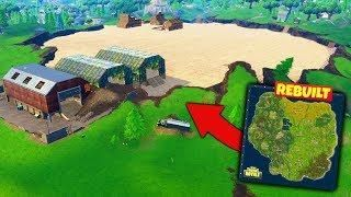 We Rebuilt The Old Map In Fortnite Battle Royale Old Map Rebuild