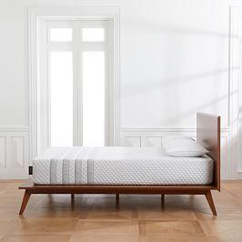 Modern Show Wood Bed Mid Century Platform Beds Leesa Mattress Platform Bed
