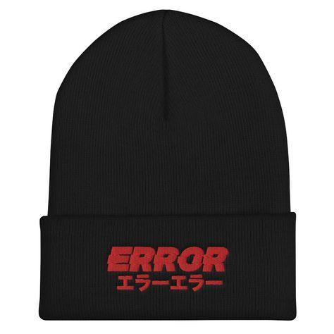 Error Beanie - Black