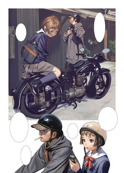 Ilustraciones de anime (Range Murata)