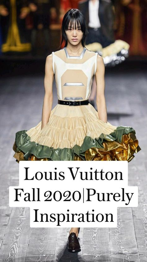 Louis Vuitton Fall 2020|Purely Inspiration