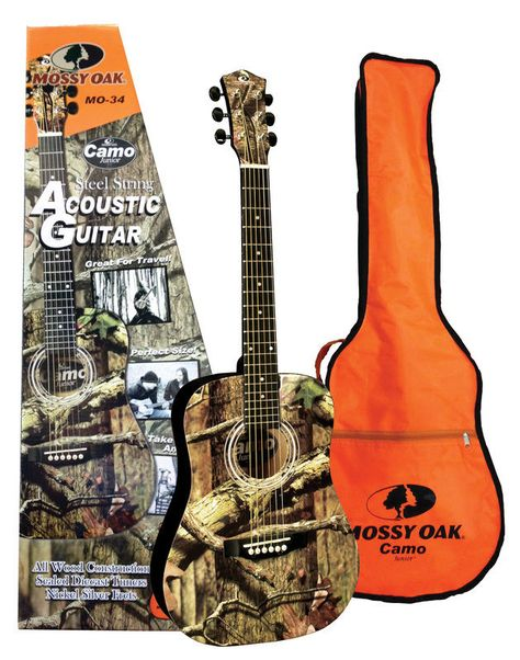 Mossy Oak Mo 34 Traveler Acoustic Guitar With Spruce Top And Gig Bag Travelerguitar Manor Music Store Guitar Acoustic Guitar Acoustic