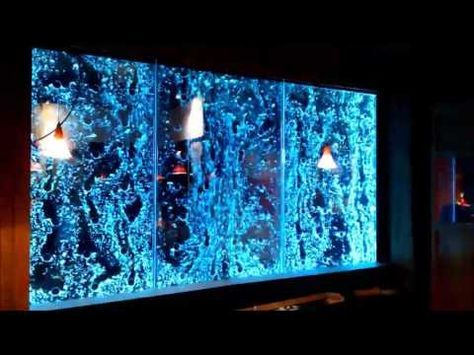 Bubble Water Wall Stunning 3 Metre Wide Client Testimonial Youtube Bubble Wall Water Walls Water Feature Wall