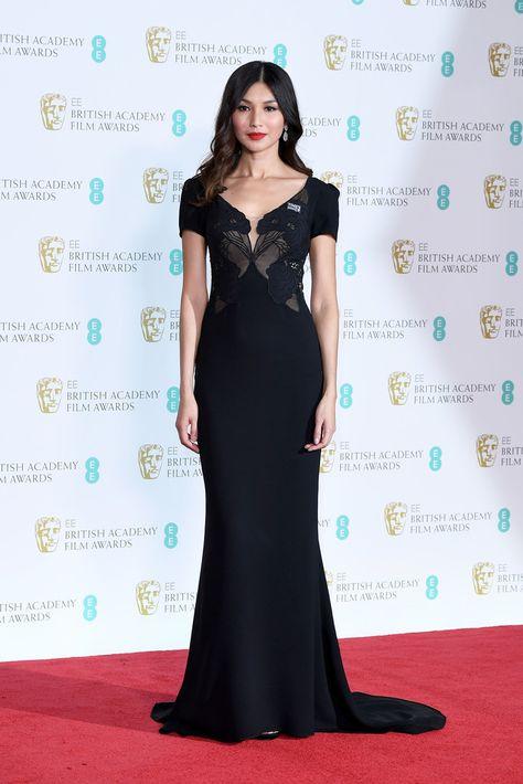 Gemma Chan Photos Photos - EE British Academy Film Awards - Press Room - Zimbio