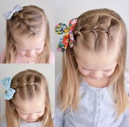 41 Trendy Hairstyles For School Girls Kids Hairstyles Little Girl Hairstyles Girl Hairstyles Girls School Hairstyles