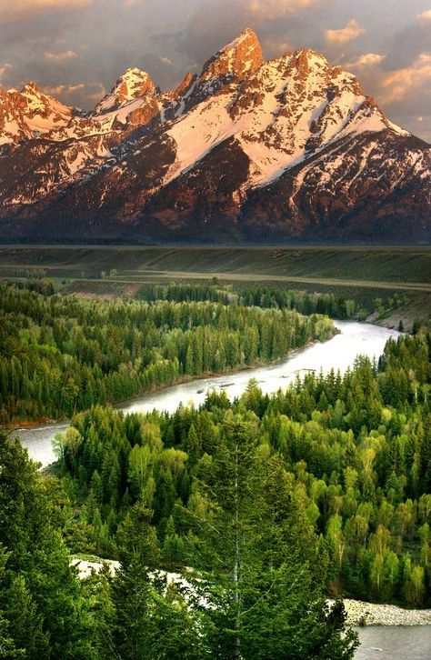 Grand Teton National Park . Wyoming