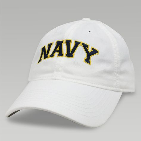 2133065ce1d Show your Navy pride with the Navy Ladies Arch Hat in white!  nbsp 100%