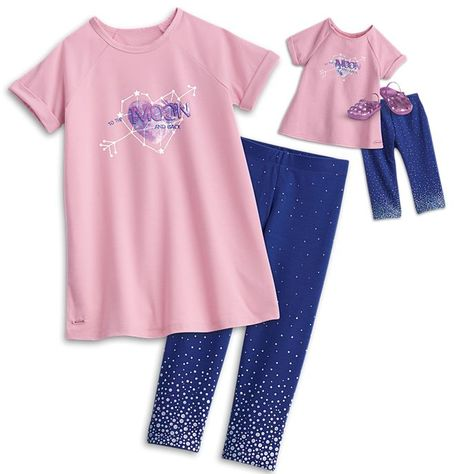 a63b7b0a2 Anna  American Girl Comfy Space PJs for Girls