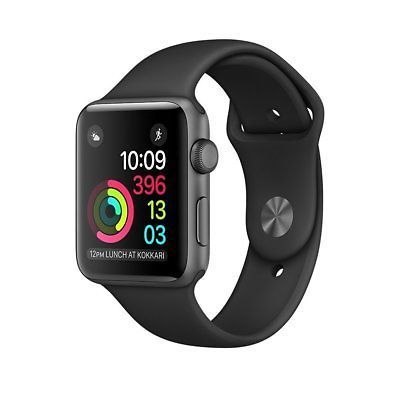 Details About Apple Watch Series 2 42mm Smart Watch Space Gray Black Mp062ll A Buy Apple Watch Apple Watch Space Grey Apple Watch