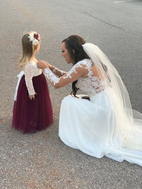 White Flower Girl Dresses, Flower Girl Tutu, Lace Flower Girls, Prom Dresses Blue, Lace Flowers, Girls Dresses, Bridesmaid Dresses, Wedding Dresses, Pageant Dresses