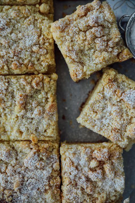 Streuselkuchen vom Blech Hefeteig | Zucker, Zimt und Liebe