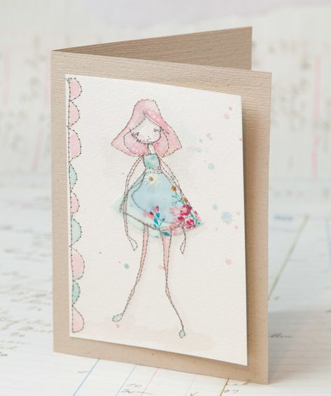 Free motion stitched whimsical greeting cards tutorial cards free motion stitched whimsical greeting cards tutorial free tutorial with pictures on how to make a stitched card in under 60 minutes m4hsunfo