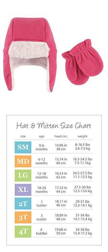 Hudson Baby Unisex Fleece Trapper Hat and Mitten Set