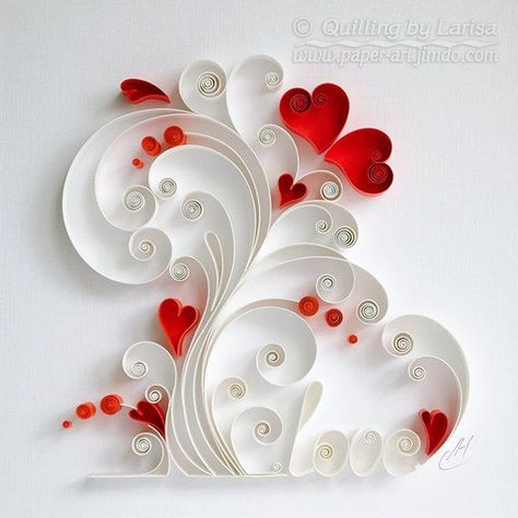 Quilling wall art Paper quilling art Love tree Who / #Art #love #paper #QuilledPaperArtbeautiful #Quilling #tree #Wall