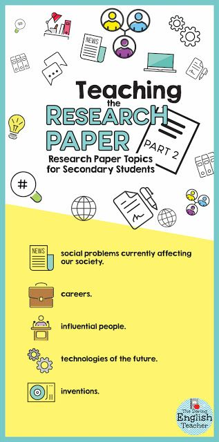 research paper topics for high school students  write baby