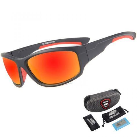 c7daf34187965  Men s Fashion Half Frame  Biker Fishing Sunglasses Eyeglasses Glasses -  Bright Black  fishingsunglasses