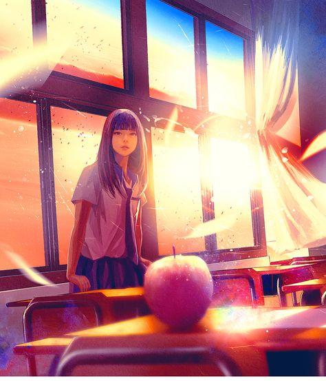 "wataboku on Instagram: ""我负责日语版""那些年,我們一起追的女孩、You Are the Apple of My Eye""的封面。山田裕貴さん・齋藤飛鳥さん(乃木坂46)主演の映画「あの頃、君を追いかけた」の日本語版の単行本装画を担当させていただいております 九把刀さん著、阿井幸作さん・泉京鹿さん訳…"""