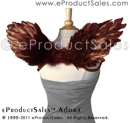 #eProductSales #Feather Angel Cocoa BROWN ADORA #Wings