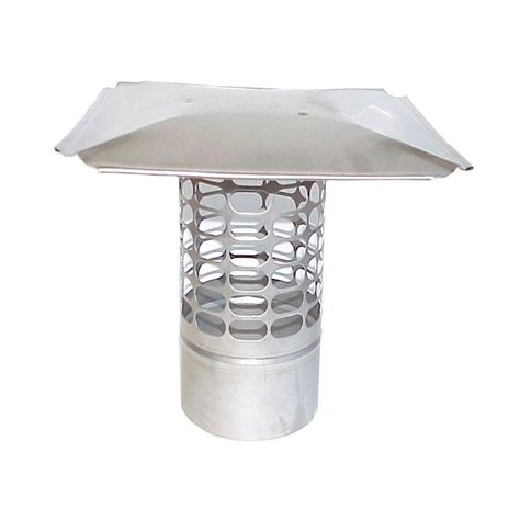 The Forever Cap Ccss88lp 8 X 8 Inch Stainless Steel Low Profile Single Flue Chimney Cap Details Can Be Found By Clicking On Th Chimney Cap Roof Cap Stainless