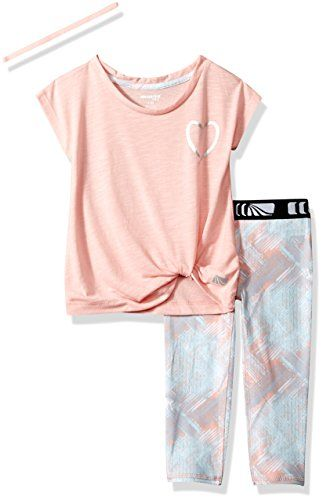 Marika Girls Big Capri Sets with Headband