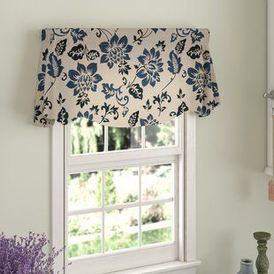 Lined Window Valances Wayfair With Images Window Valance