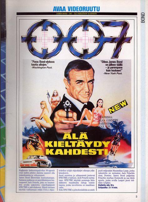 James Bond Elokuvat