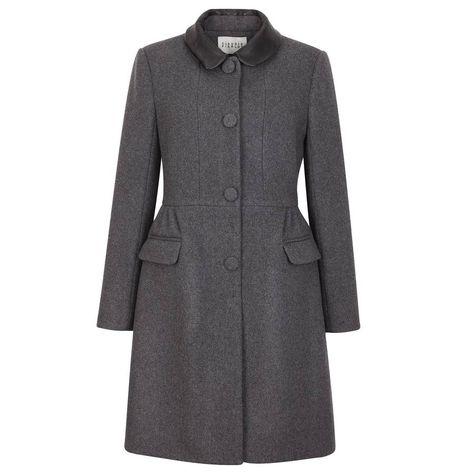 Manteau bleu pour femme