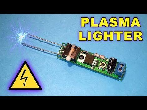 Plasma Lighter Diy Electronic Kit Assembly By Ste Youtube Diy Electronic Kits Electronics Projects Diy Electronics Mini Projects