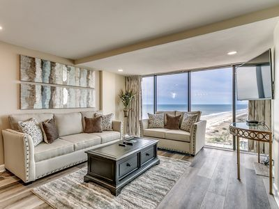 Luxury 3 Bedroom 2 Bath Oceanfront Condo Available By Luxury Beach Rentals Myrtle Beach In 2020 Oceanfront Condo Luxury Beach Beach Rentals