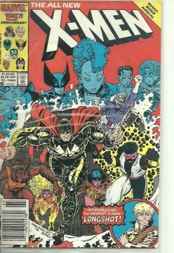 Marvel Giant Sized Annual The All New X Men 10 January 1987 034 Performance 034 Marvel Comics Covers Comics Vintage Comics