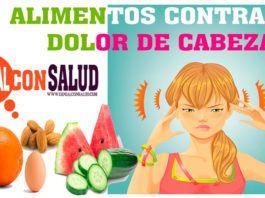 Alimentos Para Combatir Los Dolores De Cabeza