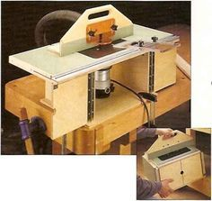 Neat little palm router table pdf plan found on shopnotes folding router table plans greentooth Images