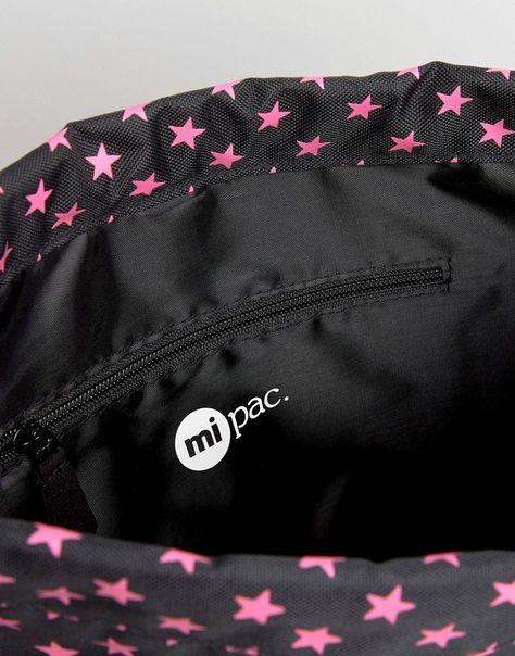 Bild 4 von Mi-Pac – Exklusiver Rucksack mit Kordelzug und Sternenprint