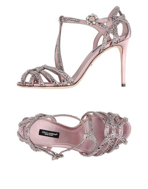 Scarpe Sposa Yoox.Dolce Gabbana Sandali Scarpe Sandali Scarpe E Moda