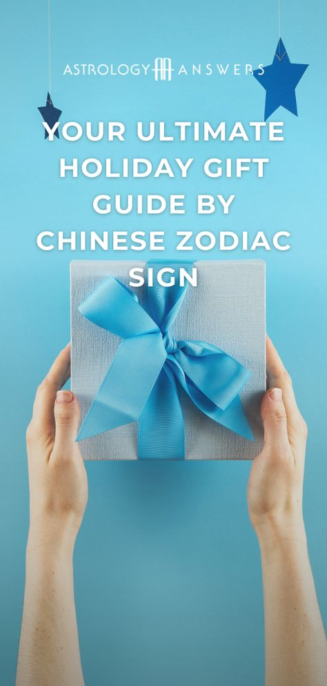 Presents can be one of the trickiest aspects of the holiday season! So, how about getting someone a gift based on their Chinese Zodiac sign? #chinesezodiacsign #holidaygiftguide #astrologygiftguide #giftguide