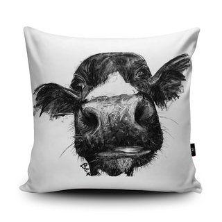 Wraptious Designerkissen Cow Kissen Design Handgemachte