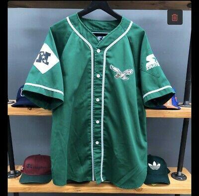 Vintage Starter Philadelphia Eagles Baseball Jersey Size L Chicago White Sox Baseball Philadelphia Eagles White Sox Baseball