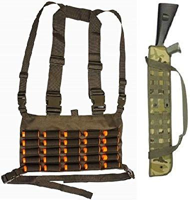 NEW OD GREEN OLIVE DRAB Military Tactical SHOTGUN Ammo Tactical MOLLE Pouch