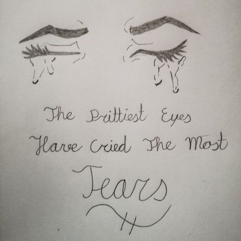 Made this with a drawing and a quote #drawings #art