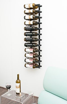 4 Foot Wall Series 12 48 Bottles Metal Wine Rack Wall Mounted Wine Rack Wine Rack