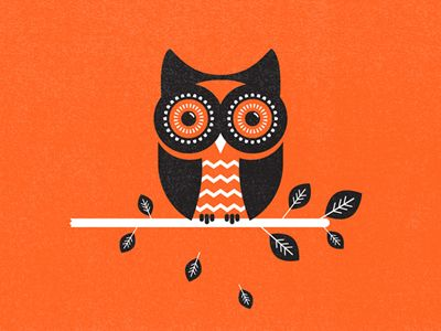 40+ Creative Owl Logo, Icon and Illustration Designs   Inspiration