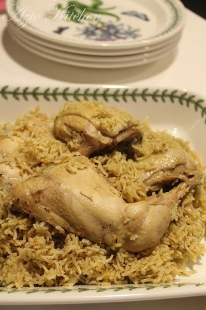 Nasi Kabsah Ayam Makanan Resep Makanan Masakan