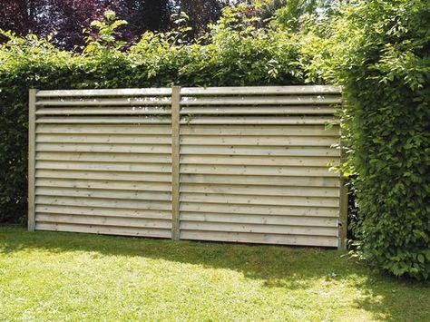 Palissade Claustra Quelle Cloture Protege Mon Jardin Des