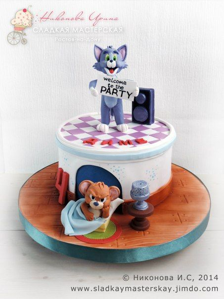 119 best Tom and jerry cake images on Pinterest Jerry oconnell