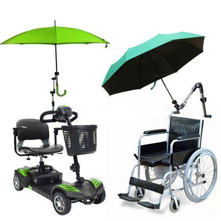 1x Umbrella Stroller Holder Mount Stand Connector for Bike Wheelchair Pushchair