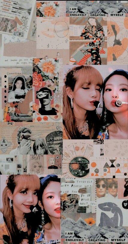 Blackpink Lisa Jisoo Rose Jennie Wallpaper Lockscreen Hd Fondo De Pantalla Jenlisa Lisa X Jennie Fotografi Malam Gadis Lucu Ruang Seni