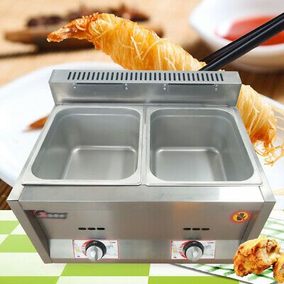 Ad Ebay 2 Pan 6l Pan Gas Food Warmer Buffet Countertop Steam