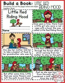 Fairy Tales Kindergarten Little Red Riding Hood Activities Fairy