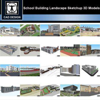 Sketchup 3d Models 20 Types Of School Sketchup 3d Models V 6